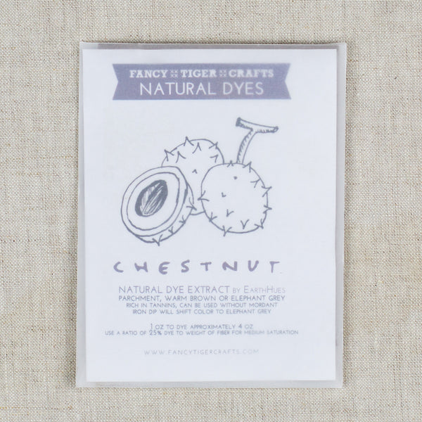 Natural Dye Chestnut 1oz