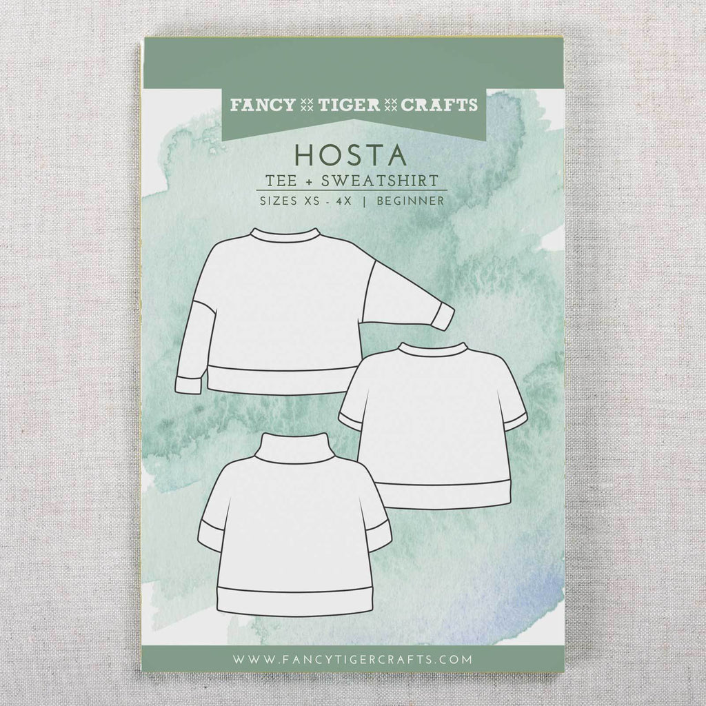 Hosta Tee & Sweatshirt Printed Pattern