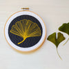Ginkgo Embroidery Pattern