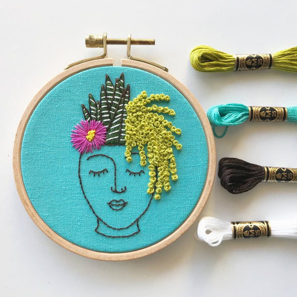 Zen Zoe Embroidery Kit