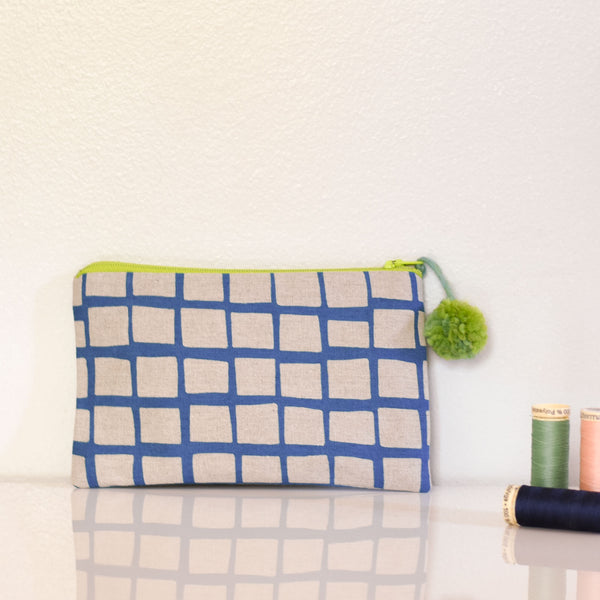 Kids Sewing 301: Zippered Pouch
