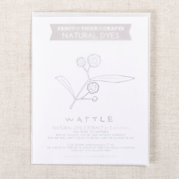Natural Dye Wattle 1oz