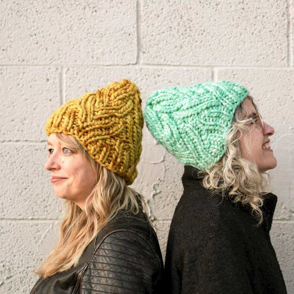 Neighborhood Holiday Hat FREE Pattern