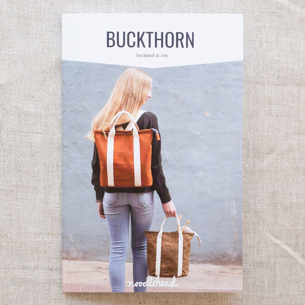 Buckthorn Backpack Pattern