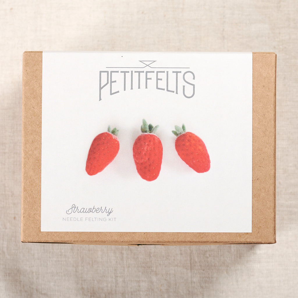 Strawberry Needlefelting Kit