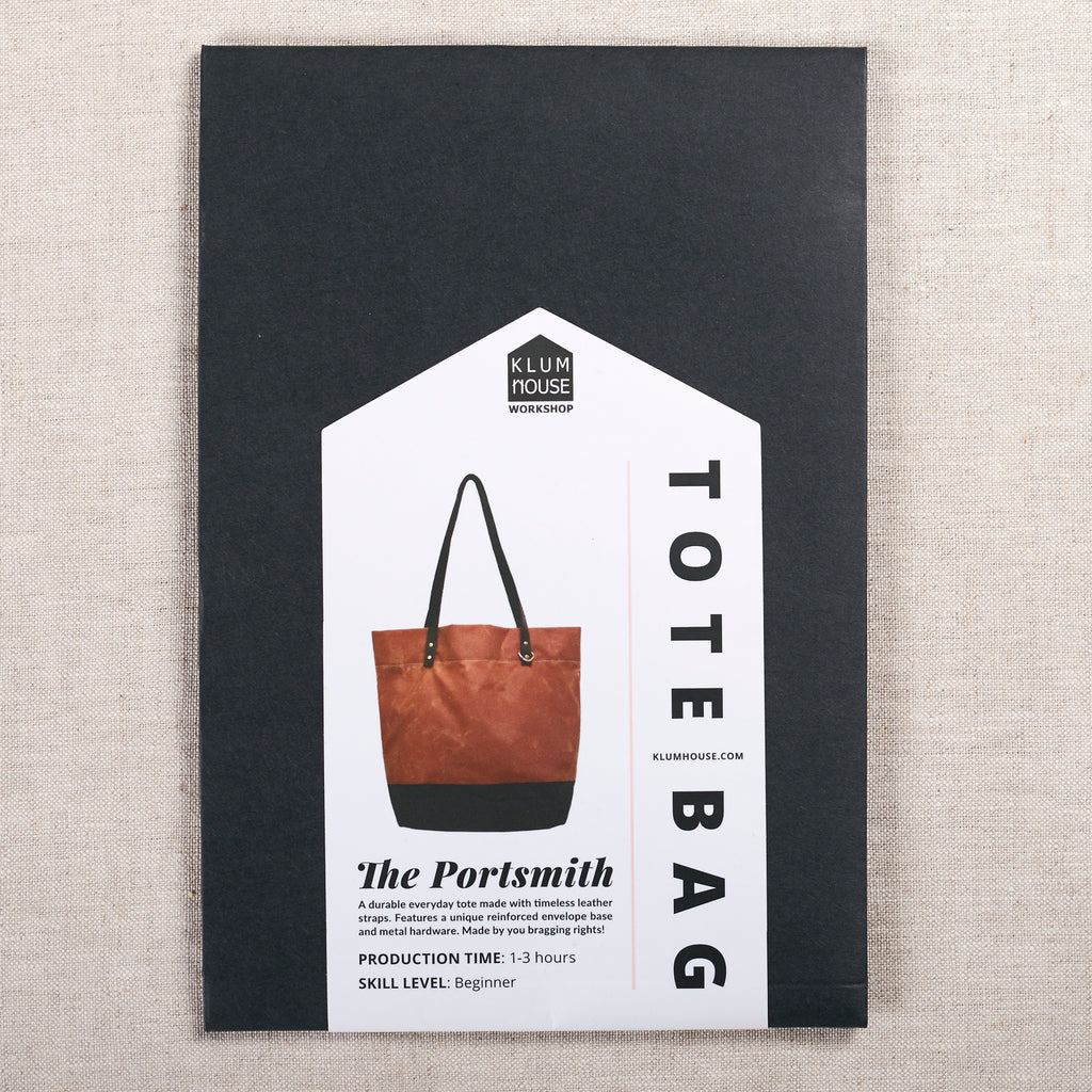 Portsmith Tote Pattern