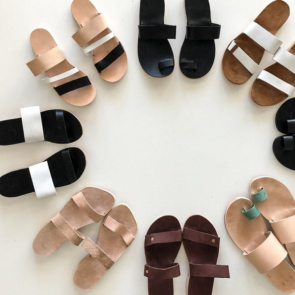 VIRTUAL Sandal Making Workshop with Stace Fulwiler