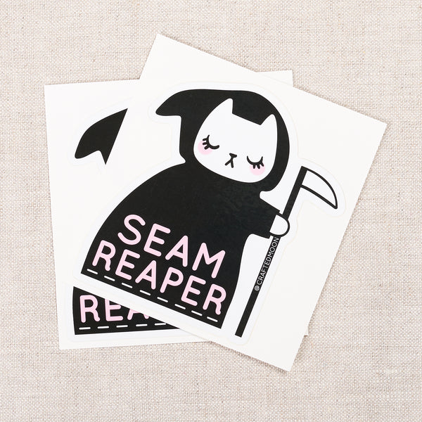 Seam Reaper Sticker