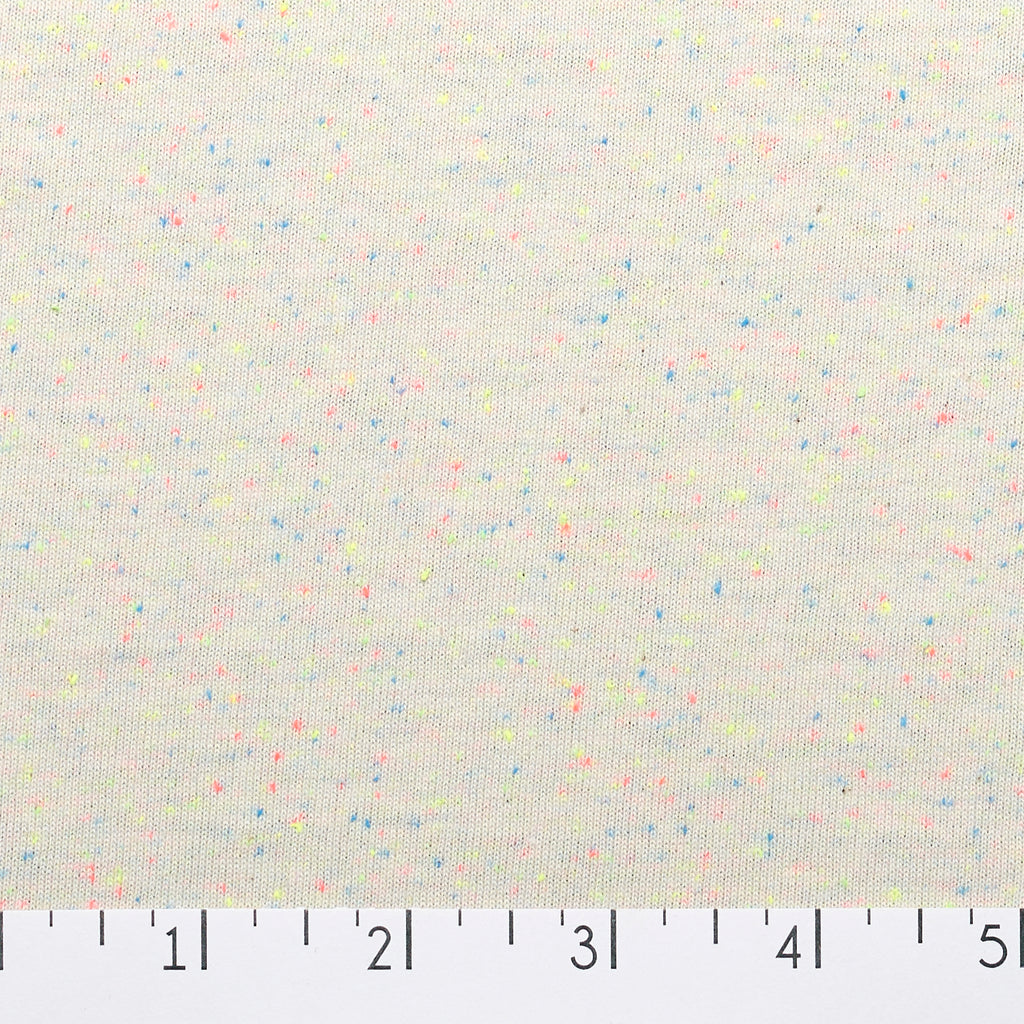 Speckle Cotton Jersey