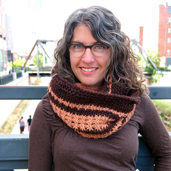 Tunisian Heirloom Cowl