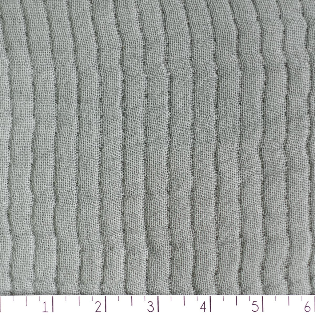 Quilted Wobble Gauze Cotton: 2.7 yd piece