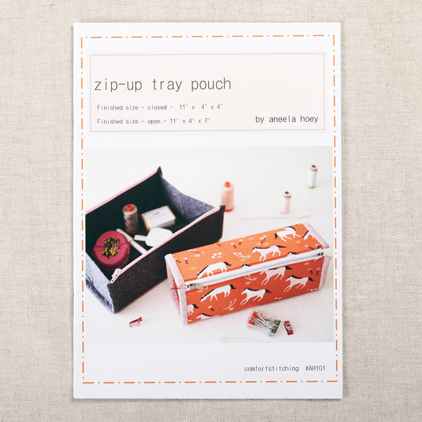 Zip-Up Tray Pouch