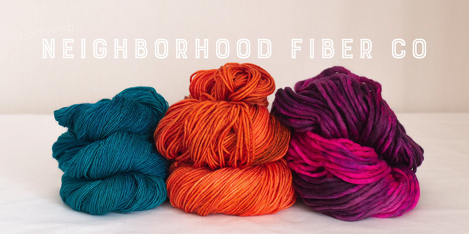 We are pleased to now carry Neighborhood Fiber Co!