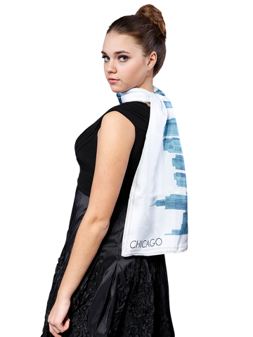 CHICAGO_COLLECTION_Pencil_Illustration_Silk_Twill_Scarf_Alesia_C_SKY_BLUE_5