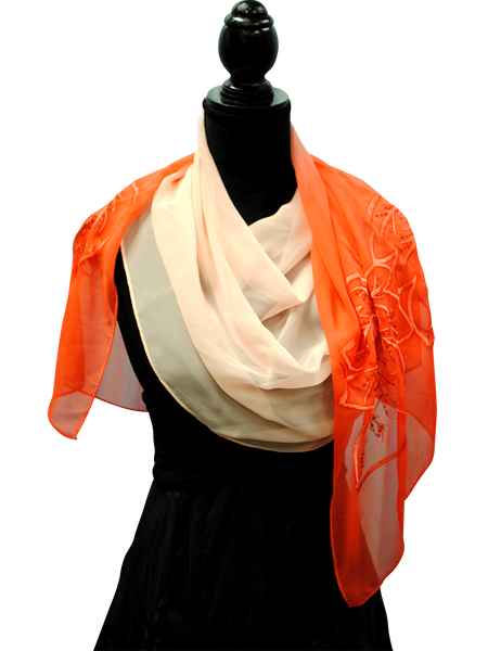 OMBRE SILK SCARVES