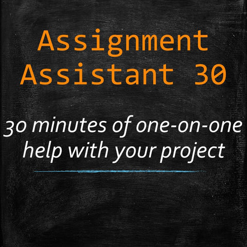 Assignment HELP! (30 minutes) - MyWordCoach.ca