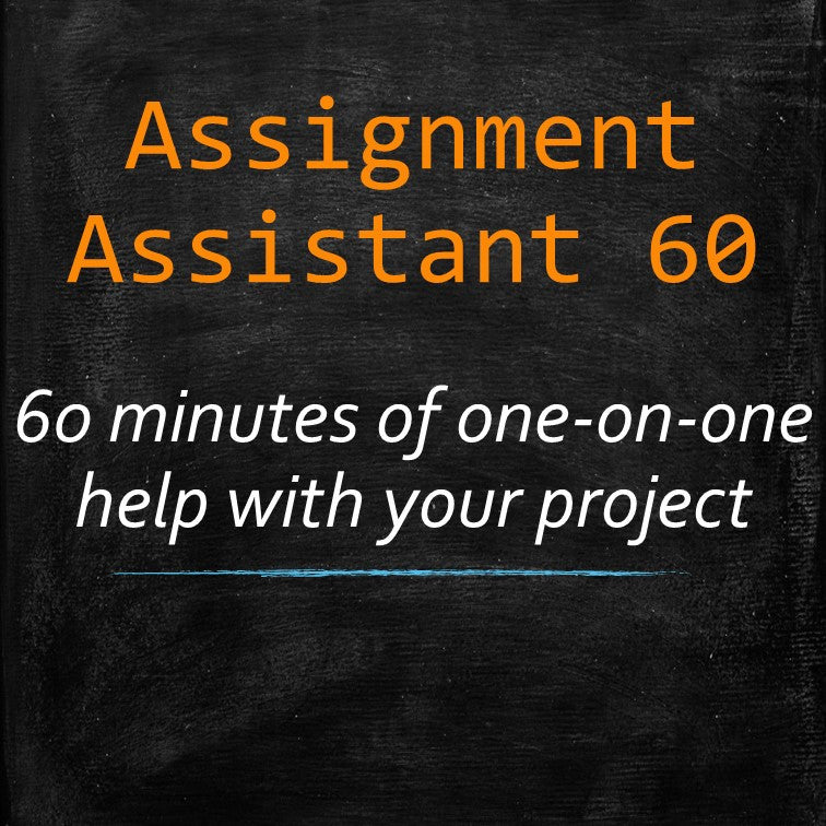 Assignment HELP! (60 minutes) - MyWordCoach.ca