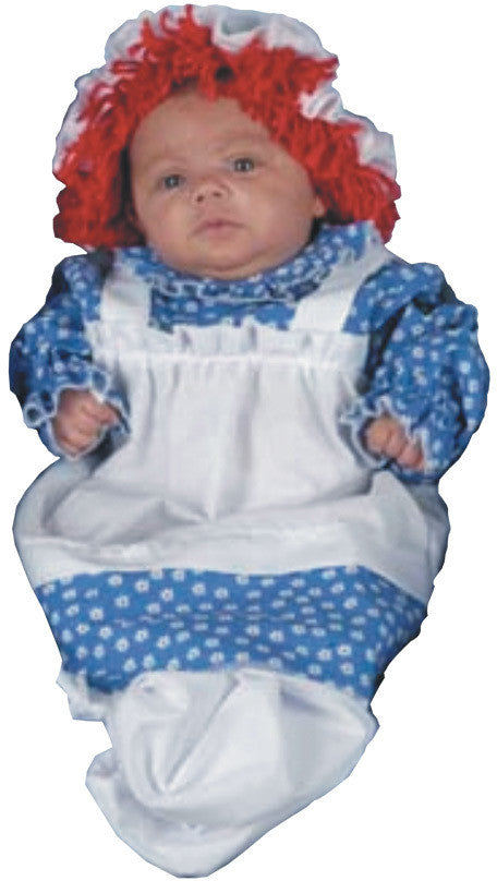 baby-girl's-costume:-raggedy-ann-bunting,-3-9-months