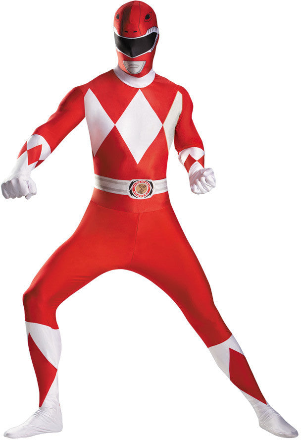 men's-costume:-red-ranger-bodysuit-plus-size