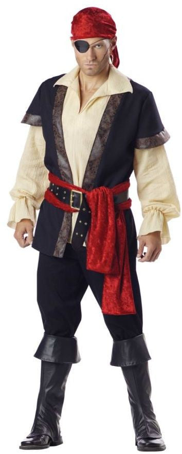 men's-costume:-pirate-extra-large