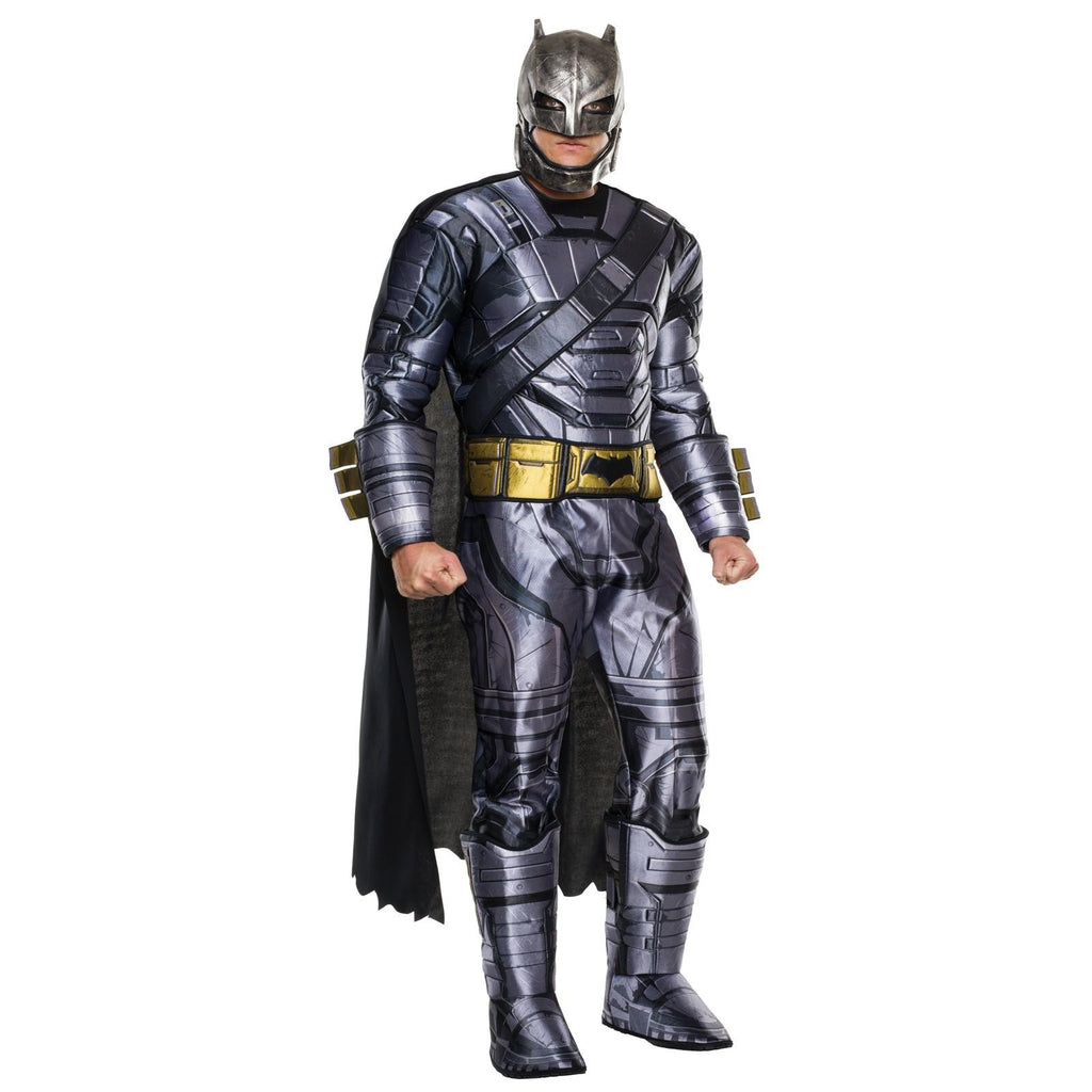 DAWN OF JUSTICE - MEN'S DELUXE ARMORED BATMAN COSTUME