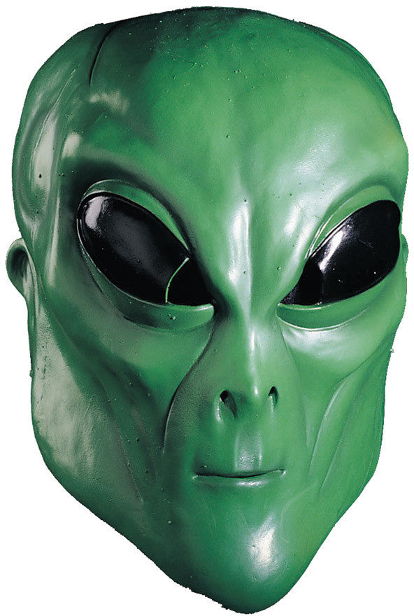 alien green mask - Fangtastic Costumes