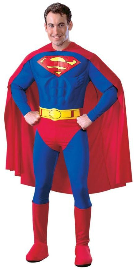 men's-costume:-superman-muscle-deluxe-small