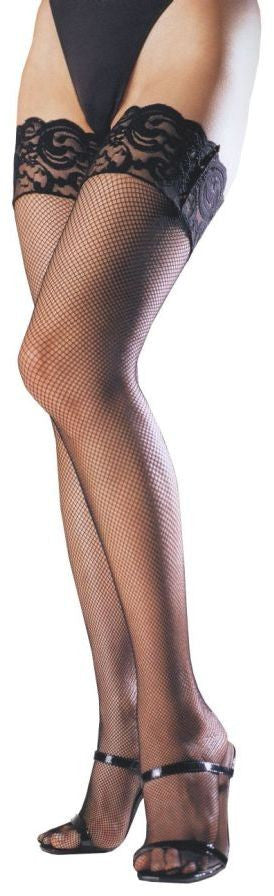 costume-accessory:-women's-thigh-hi-lace-top-stockings-black