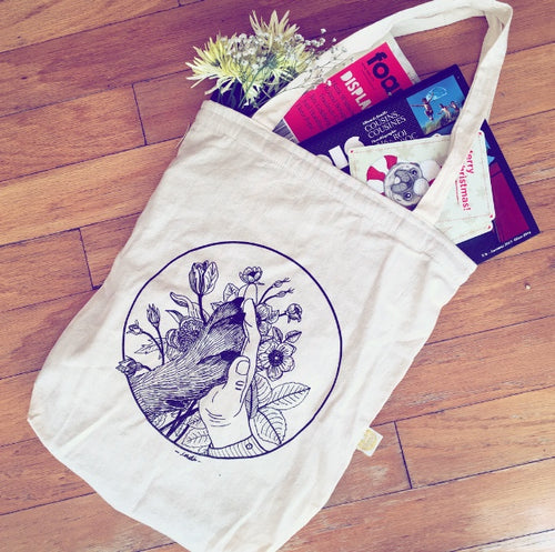 TOTE BAG: BEST FRIENDS - Hummus & Soy Sauce