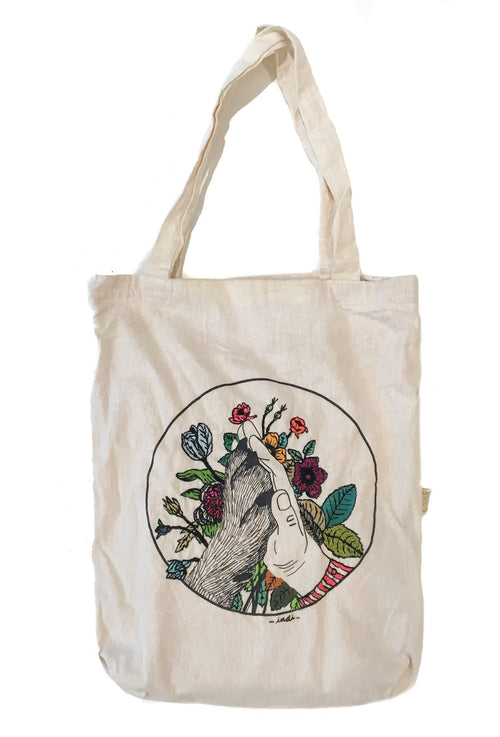 TOTE BAG: BEST FRIENDS BORDADA - Hummus & Soy Sauce