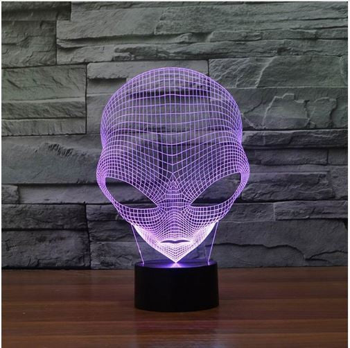 Alien LED Lamp - FREE SHIPPING