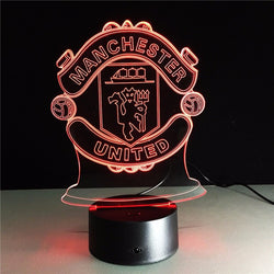 Manchester United LED Night Lamp - FREE SHIPPING