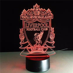 Liverpool  LED Night Lamp - FREE SHIPPING WORLDWIDE