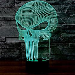 Alien Skull LED LAMP - FREE SHIPPING