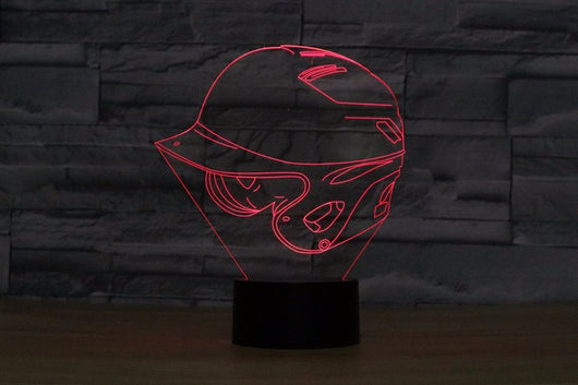 Baseball helmet LED Night Light for Bedroom - FREE SHIPPING