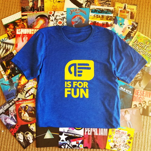 F IS FOR FUN T-SHIRT