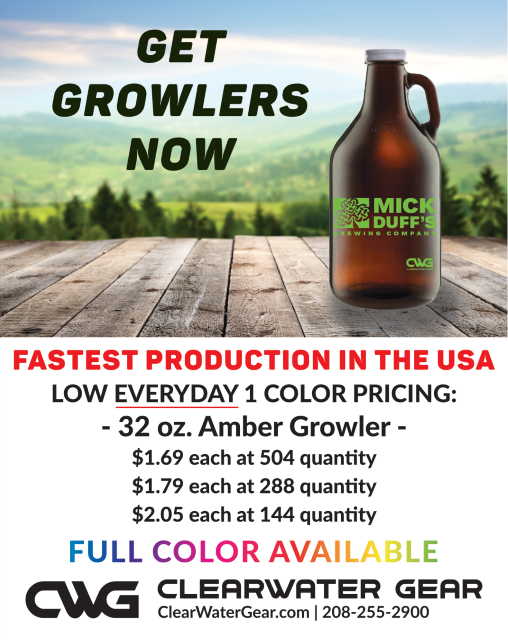 Mini 32oz Growlers