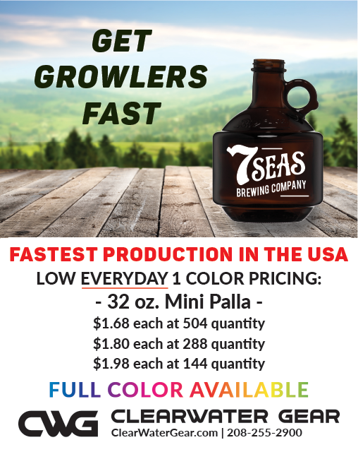 Mini Palla 32oz Growler