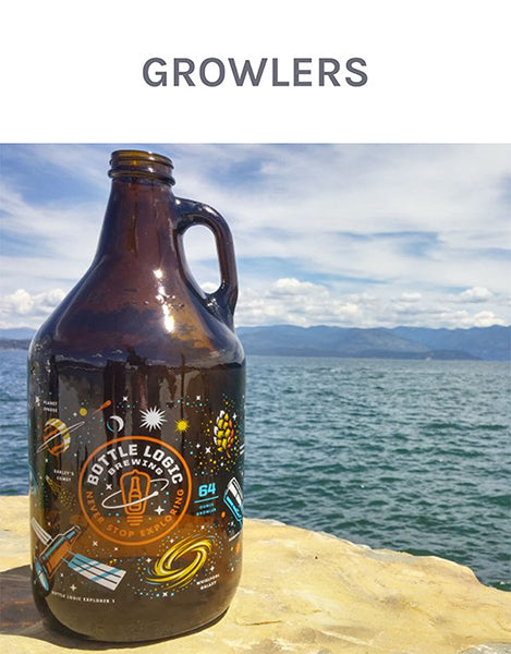 clearwater gear custom growlers and glassware