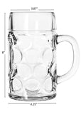 1 Liter and 0.5 Liter Oktoberfest Beer Mugs