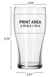 16 oz. Pub Glass #304 - 3