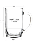 19.5 oz. Thumbprint Mug #316 - 3