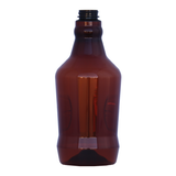 64 oz. BPA-Free Plastic Amber Growler #323-PET