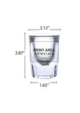 2 oz. Shot Glass Fluted #337 - 3