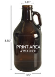 32 oz. Mini Growler #351 - 3