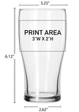 20 oz. Pub Glass #617 - 3