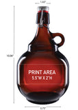 68 oz. 2L Palla Growler #648 - 3