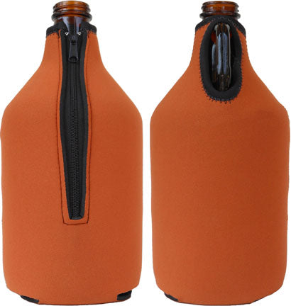 64 oz. Zipper Growler Coolie 5mm