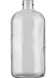 32 oz. Boston Round Grunt - Clear #654 - 2