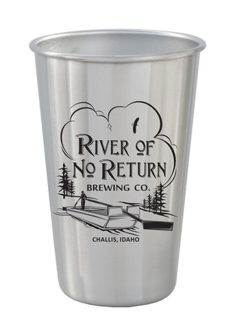 16 oz. Stainless Steel Pint #88-02 - 1
